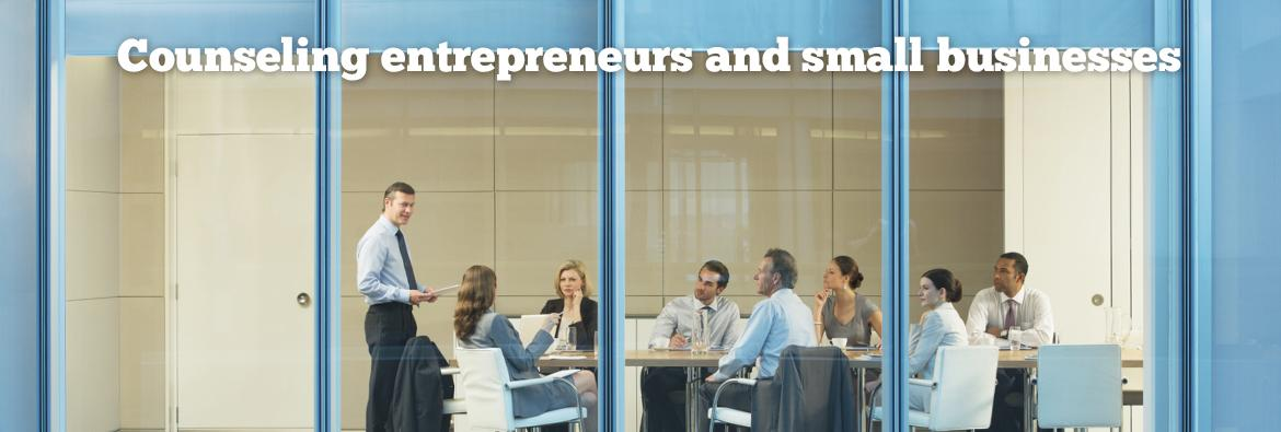Counseling entrepreneurs and small businesses